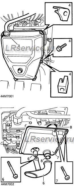 Замена масла в АКПП Range Rover
