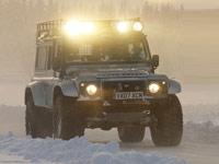 Land Rover зима